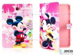 کیف تبلت سامسونگ طرح میکی موس Colourful Case Samsung Galaxy Tab S2 8.0 Micky Mouse