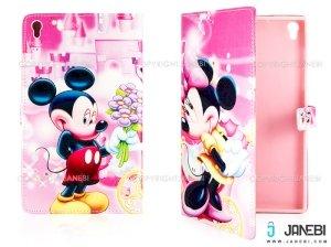 کیف تبلت لنوو طرح میکی موس Colourful Case Lenovo Tab S8 Micky Mouse