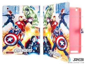 کیف آیپد طرح اونجرز Colourful Case Apple iPad 2/3/4 Avengers
