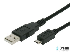 کابل تبدیل یو اس بی 2 به میکرو یو اس بی بافو BAFO FC Mesh USB 2.0 Type-A Male to Micro B Male 2m