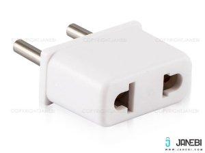 تبدیل دوشاخه برق بافو BAFO Power Connector 2 to 2