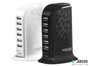 پاور هاب پرومیت Promate PowerBase-2 Power Hub 12000mAh