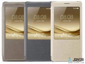 کیف چرمی اصلی هواوی Huawei Mate 8 S View Flip Cover