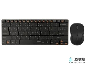 موس و کیبورد بی سیم رپو Rapoo 9020 Wireless Keyboard and Mouse