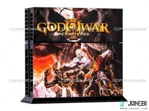 کاور اسکین کنسول بازی پلی استیشن 4 PS4 Skin God Of War