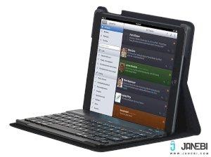 کیف کیبورد دار بلوتوثی آیپد ایر پرومیت Promate Prof Case with Bluetooth Keyboard iPad Air