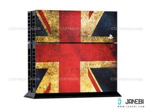 کاور اسکین کنسول بازی پلی استیشن 4 PS4 Skin England Flag