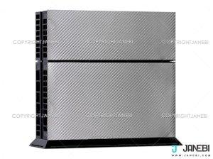 کاور اسکین کنسول بازی پلی استیشن 4 PS4 Skin Silver