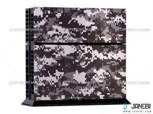 کاور اسکین کنسول بازی پلی استیشن 4 PS4 Skin Military
