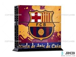 کاور اسکین (بارسلونا 1) کنسول بازی پلی استیشن 4 PS4 Skin FC Barcelona