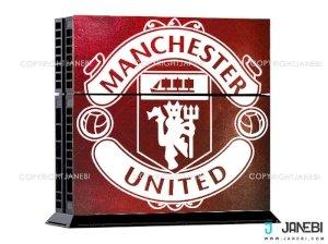 کاور اسکین کنسول بازی پلی استیشن 4 PS4 Skin Manchester United