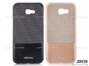 قاب ژله ای سوزنی چرمی سامسونگ Samsung Galaxy A7 2017 Jelly Leather Cover