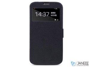 کیف چرمی نیلکین سامسونگ Nillkin Fresh Series Leather Case Samsung Galaxy Mega 6.3