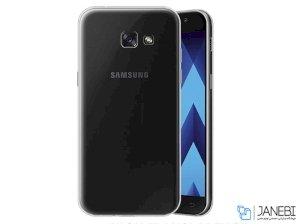 محافظ شیشه ای - ژله ای سامسونگ Samsung Galaxy A7 2017 Transparent Cover