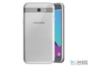محافظ شیشه ای - ژله ای سامسونگ Samsung Galaxy J3 Emerge Transparent Cover