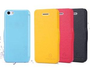 کیف چرمی نیلکین آیفون Nillkin Fresh Series Leather Case Apple iPhone 5C