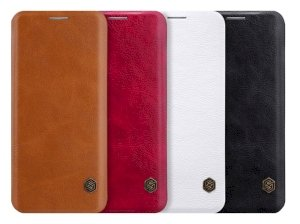 کیف چرمی نیلکین سامسونگ Nillkin Qin Leather Case Samsung Galaxy S8