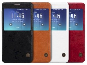 کیف چرمی نیلکین سامسونگ Nillkin Qin Leather Case Samsung Galaxy Note 5