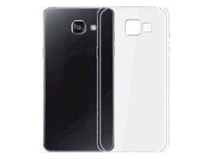 محافظ شیشه ای - ژله ای سامسونگ Samsung Galaxy A7 2016 Transparent Cover