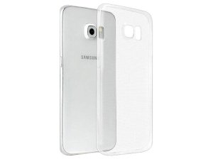 محافظ شیشه ای - ژله ای سامسونگ Samsung Galaxy S6 Edge Plus Transparent Cover