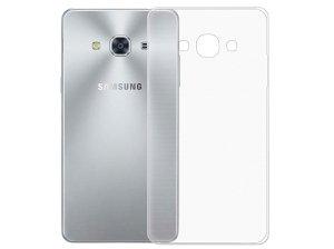 محافظ شیشه ای - ژله ای سامسونگ Samsung Galaxy J3 Pro Transparent Cover