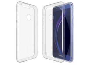 محافظ شیشه ای - ژله ای هواوی Huawei Honor 8 Transparent Cover