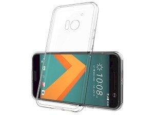 محافظ شیشه ای - ژله ای اچ تی سی HTC 10 Transparent Cover