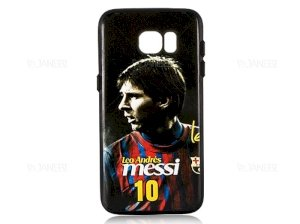 قاب محافظ سامسونگ Creative Case Messi Samsung Galaxy S7 Edge