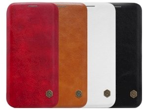 کیف چرمی نیلکین سامسونگ Nillkin Qin Leather Case Samsung Galaxy S7 Edge