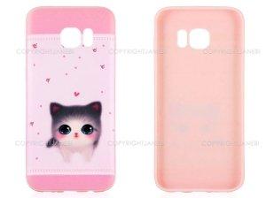 محافظ ژله ای سامسونگ طرح گربه Mobile Case Samsung Galaxy S7 Edge