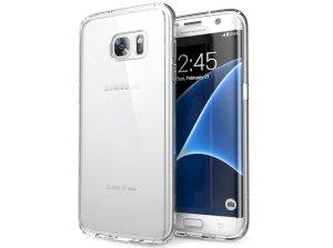 قاب محافظ شیشه ای ژله ای راک سامسونگ Rock Pure Case Samsung Galaxy S7 edge