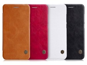 کیف چرمی نیلکین هواوی Nillkin Qin Leather Case Huawei P10 Lite