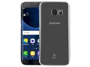 قاب محافظ شیشه ای سامسونگ Baseus Sky Case Samsung Galaxy S7 Edge