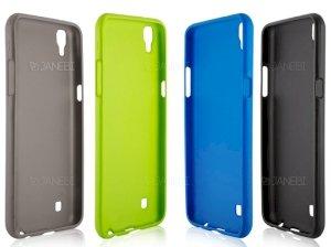 محافظ ژلهای سیلیکونی ال جی TT Sborn TPU Case LG X Power