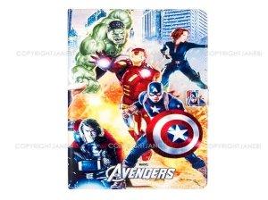 کیف آیپد ایر 2 طرح اونجرز Colourful Case Apple iPad Air 2 Avengers