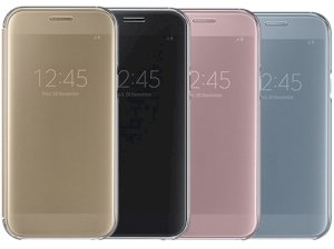 کیف هوشمند اصلی سامسونگ Samsung Galaxy A7 2017 Clear View Cover