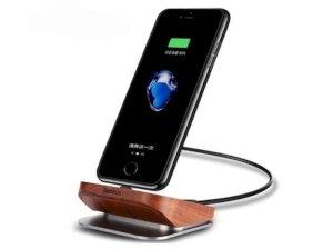 داک شارژ رومیزی لایتنینگ بیسوس Baseus Duewood Desktop Charging Station