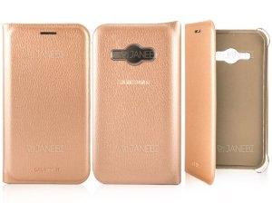 فلیپ کاور چرمی سامسونگ Samsung Galaxy J1 Ace Flip Cover