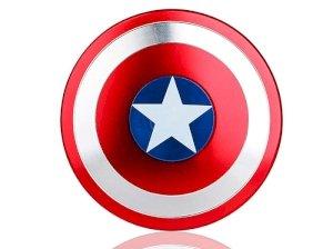 اسپینر فلزی طرح کاپیتان آمریکا Fidget Spinner Metal Captain America
