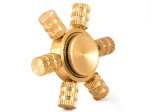 اسپینر فلزی شش پره ای Fidget Spinner Metal Six Vane