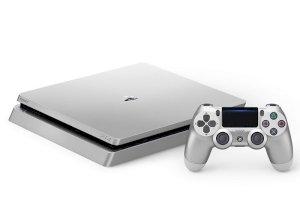 پلی استیشن 4 اسلیم نسخه سیلور Sony PlayStation 4 Slim 1TB