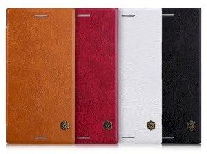 کیف چرمی نیلکین سونی Nillkin Qin Leather Case Sony Xperia XZ Premium