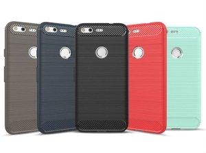 محافظ ژله ای گوگل Carbon Fibre Case HTC Google Pixel
