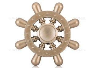 اسپینر فلزی سکان کشتی 1 Fidget Spinner Metal Steering The Ship
