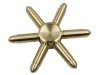 اسپینر فلزی شش پره ای طرح فشنگ برتا Fidget Spinner Metal Beretta Bullet
