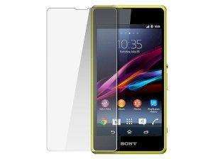 محافظ صفحه نمایش شیشه ای سونی Glass Screen Protector Sony Xperia Z1 Compact