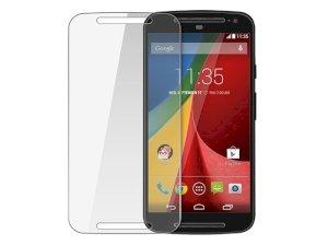 محافظ صفحه نمایش شیشه ای موتورولا Glass Screen Protector Motorola MOTO G2