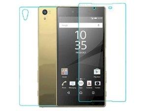 محافظ صفحه نمایش شیشه ای پشت و رو سونی Glass Back And Screen Protector Sony Xperia Z5