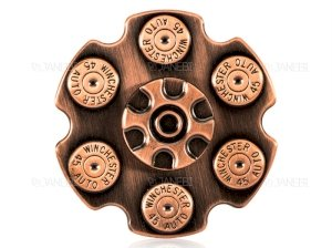 اسپینر فلزی طرح خشاب اسلحه Fidget Spinner Gun Cartridge