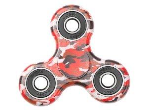 اسپینر فلزی طرح چریکی قرمز Fidget Spinner Red Guerrilla